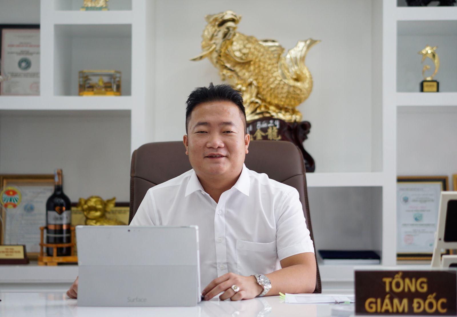 ông Phạm Trọng Nghĩa - Tổng giám đốc công ty CP thực phẩm Phạm Nghĩa (Phạm Nghĩa Food)