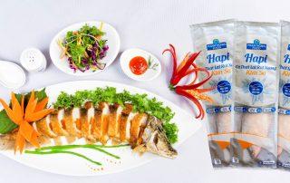 Sản phẩm làm từ cá thát lát rút xương của Công ty Phạm Nghĩa đạt tiêu chuẩn xuất khẩu.