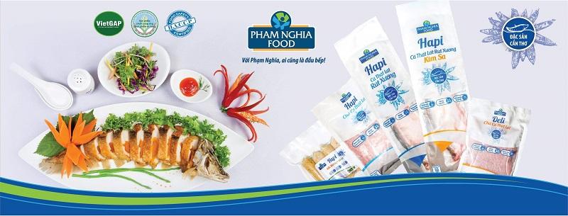 Các sản phẩm từ cá thát lát của PHAM NGHIA FOOD