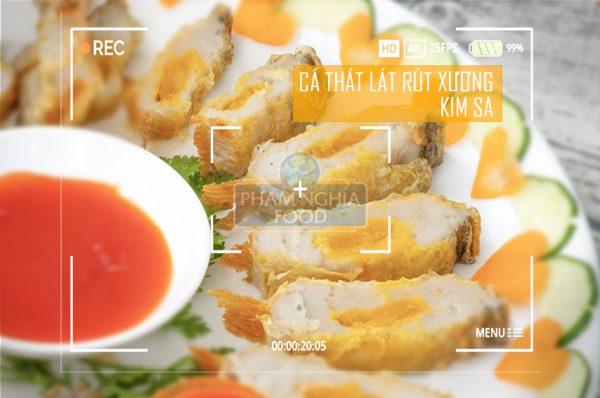 Cá thát lát rút xương kim sa - Sản phẩm từ chả cá thát lát của PHAM NGHIA FOOD nổi tiếng được nhiều người biết đến là món đặc sản Cần Thơ không thể bỏ qua khi đến đây