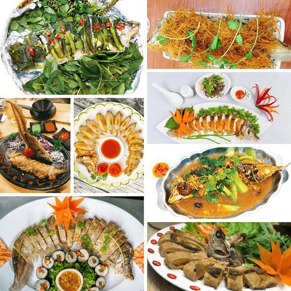 Mua cá thát lát rút xương để chế biến ra nhiều món ăn ngon mới lạ