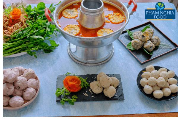 Combo viên thả lẩu thập cẩm của PHAM NGHIA FOOD vừa ngon vừa dễ dùng!