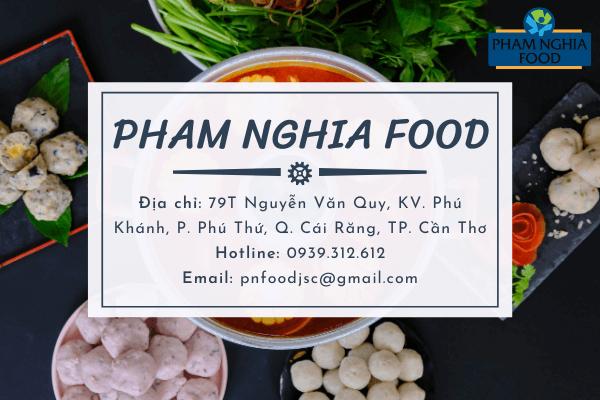 Liên hệ PHAM NGHIA FOOD để nhận được nhiều ưu đãi khi mua viên thả lẩu thập cẩm giá sỉ