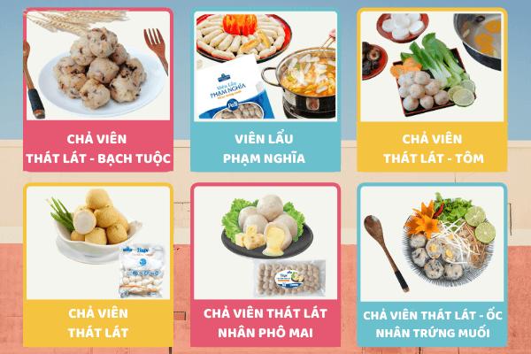 Các dòng chả viên giúp PHAM NGHIA FOOD tiếp cận gần hơn với khách hàng, đặc biệt là khách hàng trẻ!