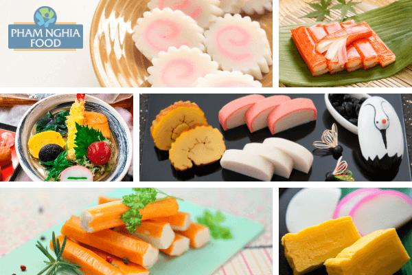 Các loại chả cá ngon ở Nhật luôn yêu cầu cao về tính thẩm mỹ cũng như nghệ thuật sắp đặt!