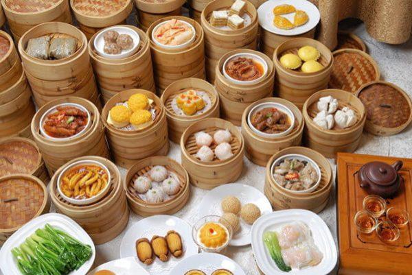 Dimsum được biết đến là món ăn đặc trưng của ẩm thực Trung Hoa