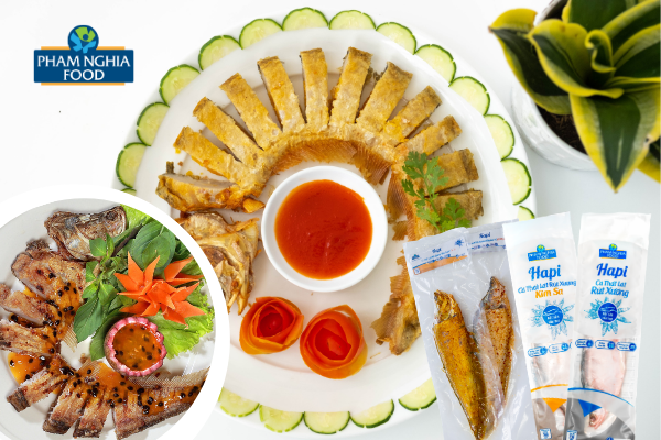 PHAM NGHIA FOOD liên tục sáng tạo để tạo ra nhiều hương vị cá thát lát rút xương mới dành cho mọi người!