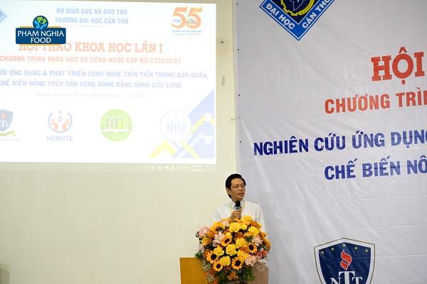 Vụ trưởng Vụ KHCN & MT nhấn mạnh giá trị của việc chuyển giao khoa học công nghệ tại Việt Nam