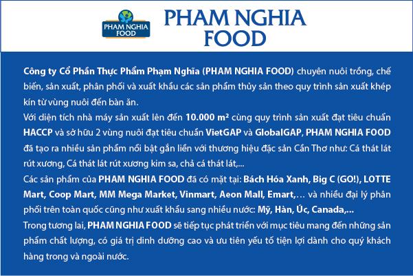 Giới thiệu tổng quan về PHAM NGHIA FOOD