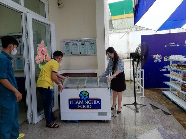 PHAM NGHIA FOOD hỗ trợ siêu thị 0 đồng từ tủ đông….