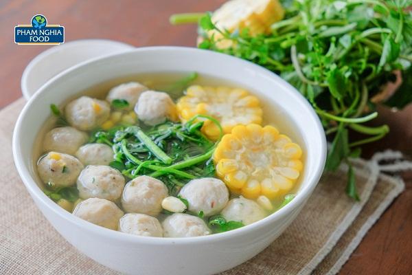 Với cá viên rau củ PHAM NGHIA FOOD, các mẹ tha hồ trổ tài đầu bếp nhé!