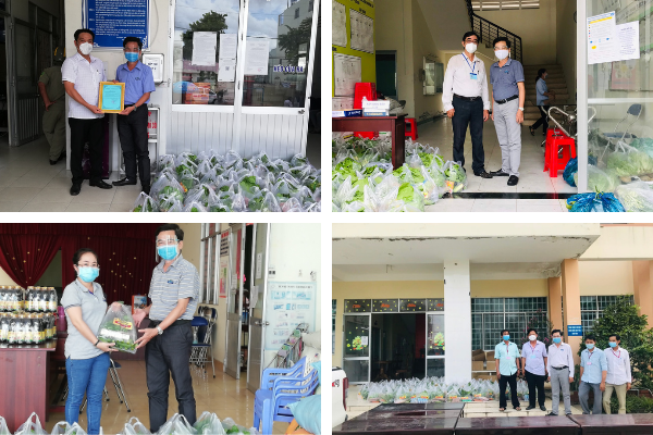PHAM NGHIA FOOD tận tay trao những phần quà đến từng địa phương!